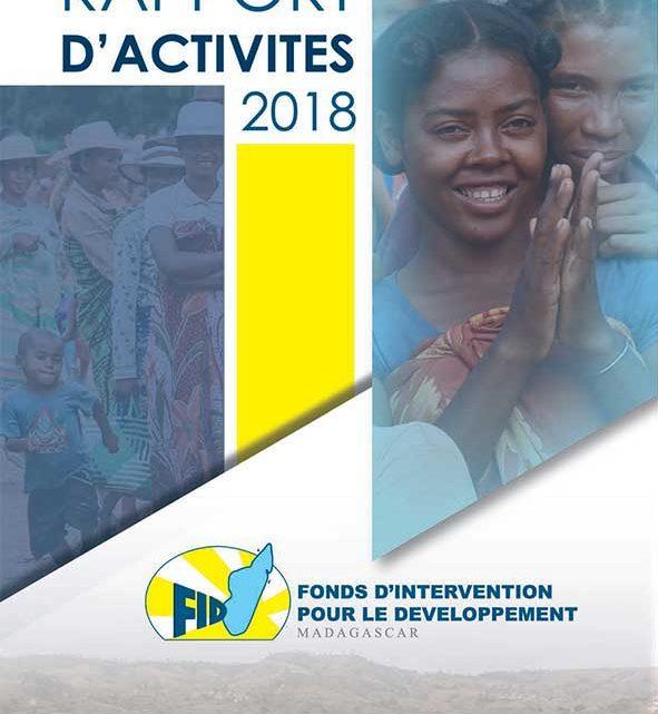 Rapport d'activités annuel – 2018