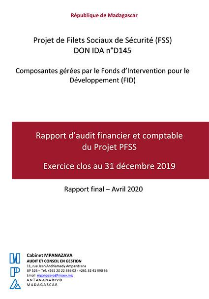 Rapportd'auditfinancieretcomptable duProjetPFSS – DONIDAn°D145