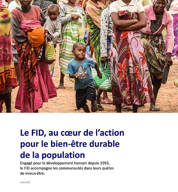 Le FID, au coeur de l'action pour le bien-être durable de la population