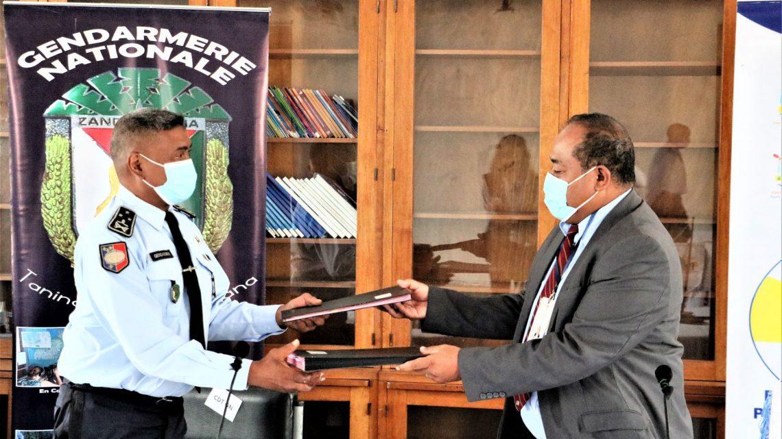 Sécurisation des programmes de protection sociale sur le territoire de Madagascar, la convention entre le FID et la Gendarmerie Nationale a été renouvelée