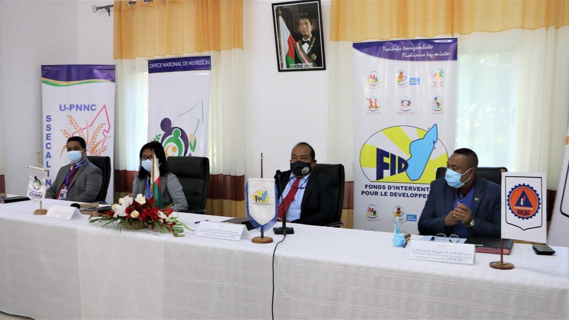 Communiqué de Presse: Renforcement de la coordination des interventions du FID dans la Gestion des risques et catastrophes et dans les programmes de santé et nutrition